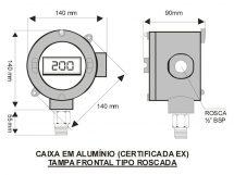 TERMÔMETRO DIGITAL – MODELO TRD-0200
